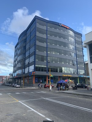 Emerge facility located in Georgetown, Guyana