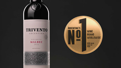 Trivento, the Malbec powerhouse known as the House of Wind, doubled sales performance to become the world's leading Argentine wine brand