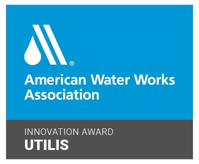 The American Water Works Association Innovation Award is to be presented to Utilis Corp. on August 5, 2021, by Heather Collins, VP of AWWA at the Town and Country Hotel in San Diego with top dignitaries attending