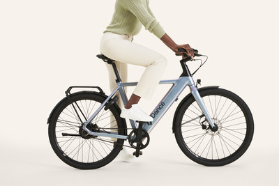 The Dance ebike is designed for people who are looking for a joyful way to explore their city: on a full charge, the battery can last up to 55km (PRNewsfoto/Dance GmBH)