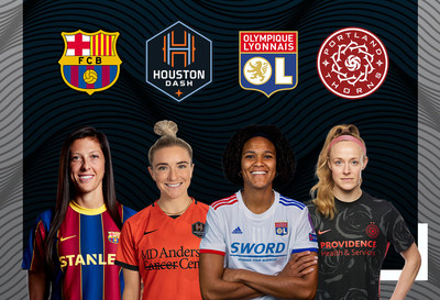 DAZN to broadcast the Women's ICC tournament live on platform as well as on its new YouTube channel dedicated to women's football (PRNewsfoto/DAZN)