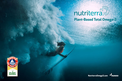 Nutriterra Total Omega-3, a plant-based innovation providing an ocean of nutrition within a canola seed.
