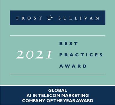 2021 Global AI in Telecom Marketing Company of the Year Award