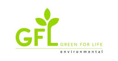 GFL Green For Life Environmental Logo (CNW Group/GFL Environmental Inc.)