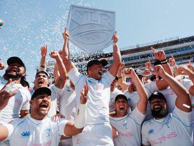 LA Giltinis win MLR Championship in inaugural season. Courtesy of Major League Rugby