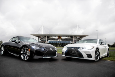 Lexus will be the Official Luxury Vehicle of the Miami Dolphins and Hard Rock Stadium
