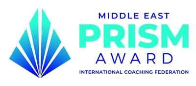 Middle East Prism Award Logo (PRNewsfoto/International Coaching Federation)