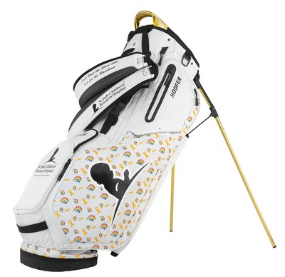 St. Jude patient artwork is featured throughout the World Golf Championships – FedEx St. Jude Invitational, adorning custom FootJoy® shoes, PING® golf bags and TaylorMade® putter covers to bring global awareness to the lifesaving mission of St. Jude Children's Research Hospital: Finding cures. Saving children.®