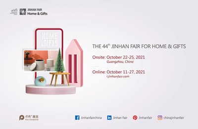 The 44th Jinhan Fair for Home & Gifts moves to onsite & online forma (PRNewsfoto/Jinhan Fair for home & gifts)