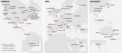 Global Reach of Platform Equinix with Expanded Indian Operations