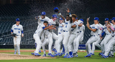 The East celebrates its 9-1 victory over the West in the 2021 Perfect Game All-American Classic Presented by Top Chops. The players on both teams, and others like them, will benefit from Perfect Game's new and innovative career advancement tool, PG People, created in tandem with The Tatnuck Group.