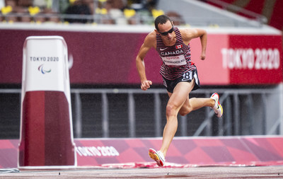 Runner Thomas Normandeau is one of six athletes who will be competing in Para athletics finals on Saturday. PHOTO: Dave Holland/Canadian Paralympic Committee (CNW Group/Canadian Paralympic Committee (Sponsorships))