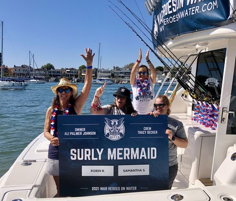 """The Surly Mermaid holds two WHOW Tournament """"firsts""""; she featured one of the first all-female veteran teams, as well as an all-female captain/crew."""