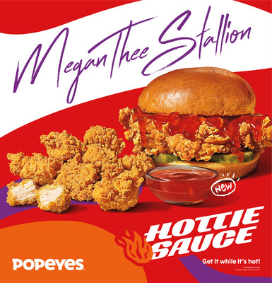 Megan Thee Stallion & Popeyes® Team Up for Product Creation and Fashion Drop Collaboration to Disrupt the Fast Food Industry (CNW Group/Popeyes Louisiana Kitchen, Inc.)