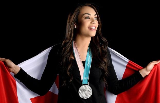 Olympic-medallist Sarah Nurse (Ice Hockey) joins Team RBC among 55 Canadian athletes, ahead of Beijing 2022. Photo credit: Matthew Murnaghan / Hockey Canada Images (CNW Group/RBC)