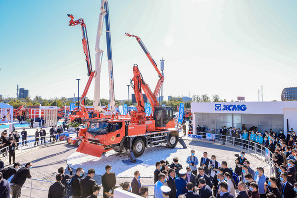 XCMG Unveils Advanced Emergency and Rescue Equipment Products at China Fire 2021.